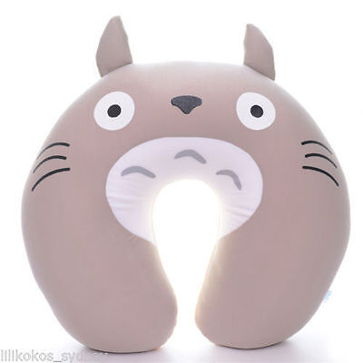 My Neighbor Totoro - U Pillow for travel neck support! soft and comfortable