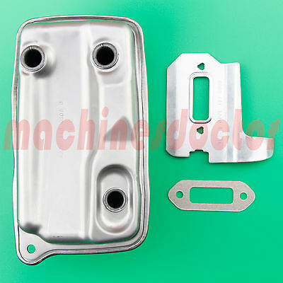 Exhaust Muffler Cooling Plate Gasket Fits Stihl TS410 TS420 Concrete Cut-Off Saw
