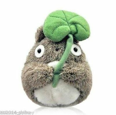 Official Studio Ghibli My Neighbor Totoro - Holding Leaf 13cm Plush Toy ~ Cute