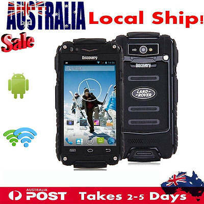 Discovery V8 3G Rugged Android Smartphone Dual Core Outdoor Mobile Phone 4.0Inch