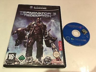 Terminator 3: The Redemption for Nintendo GameCube, 2004 Game No Ins