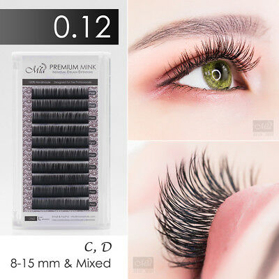 Mia 0.12 Faux Mink Synthetic Mink Individual Eyelash Extension Semi Permanent