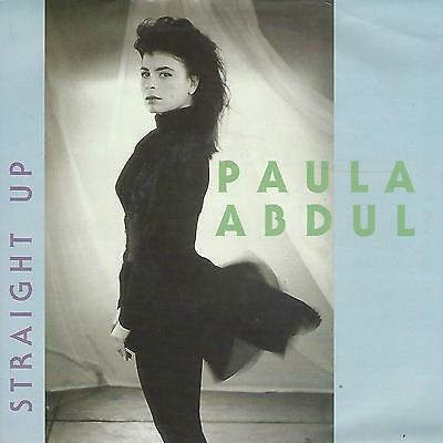 "PAULA ABDUL ""STRAIGHT UP "" 45 giri 7"""