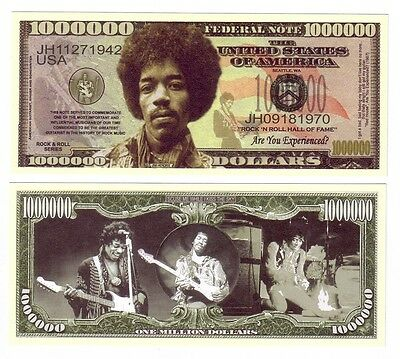 One Million Dollars Jimi Hendrix