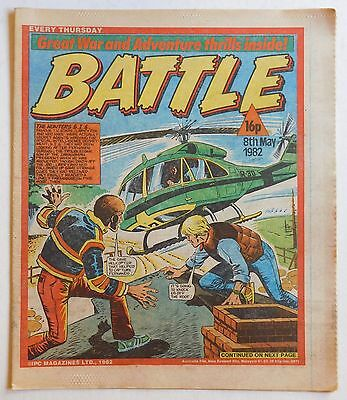 BATTLE Comic - 8th May 1982