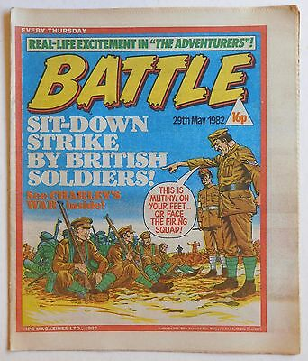 BATTLE Comic - 29th May 1982