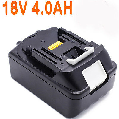 For Makita 18V 4.0AH BL1840 BL1830 BL1815 LXT Lithium Ion Battery Cordless