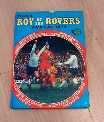 Vintage Roy Of The Rovers Hardback Annual 1974
