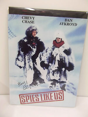 "Rare Signed Chevy Chase Spies Like Us Photograph with COA 12"" x 16"""