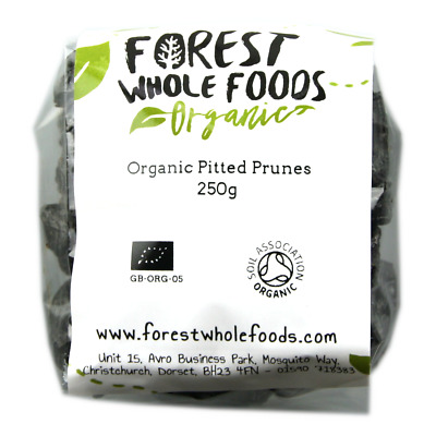 Organic Pitted Prunes 250g
