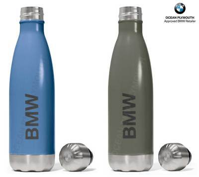 Genuine BMW Active Drinks Bottle (Thermal) - Blue or Green