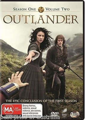 OUTLANDER: Season 1: Part 2 DVD TV SERIES DRAMA ROMANCE BRAND NEW 3-DISCS SET R4
