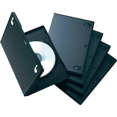 lot de 6 BOITIERS CD / DVD 15 MM SIMPLE