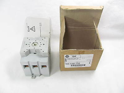 Allen Bradley, IEC Load Switch, 194E-E100-1753, SER B, 100 Amps, New in Box, NIB