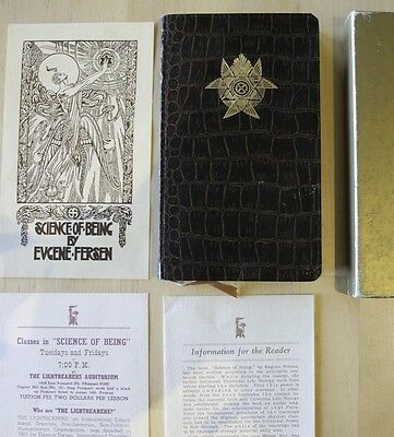 """""""Science of Being"""" by Eugene Fersen Antique 1st Edition book"""