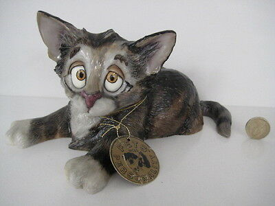 Pets With Personalitiy Wide Eyed Collectable Cat Kitten Dale