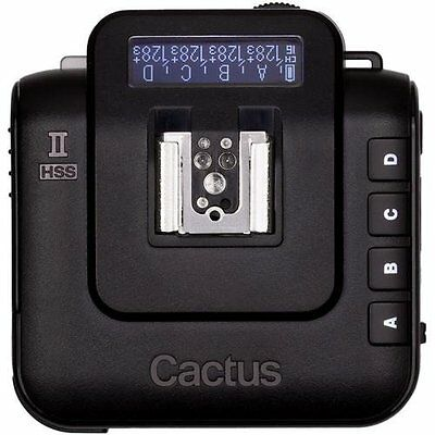 Cactus V6II Wireless Flash Transceiver - Black