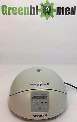 Eppendorf MiniSpin Plus 5453 Microcentrifuge w/ F-45-12-11 rotor & lid !Working!