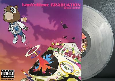 KANYE WEST Graduation Deluxe Limited Edition CLEAR  2 LP VINYL NEW