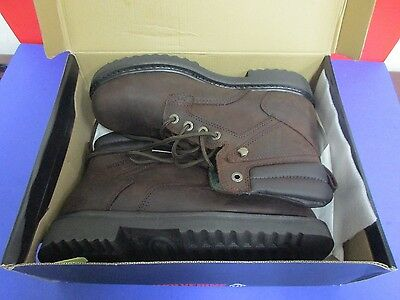 NEW WOLVERINE Men Work Boots LEATHER Size 11 USA Extra Wide 84922