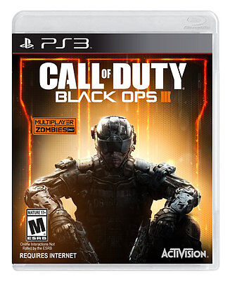 Call of Duty Black Ops III 3 PS3 Game Brand New & Sealed
