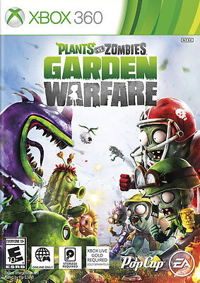 Plants Vs Zombies Garden Warfare - Xbox 360 Game - New & Sealed