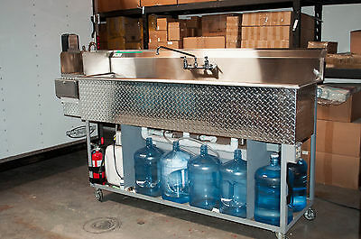 Ultimate Concession 3 Compartment Sink with Hand Wash Station