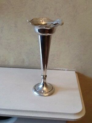 Vintage Silver Plated Decorative Vase