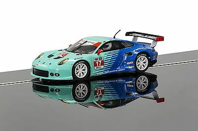 Scalextric Porsche 911 RSR (Falken Tires) - NEW C3851 Slot Car