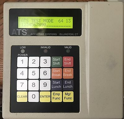 AccuTime Series 3000/46 Time & Data Collection Terminal