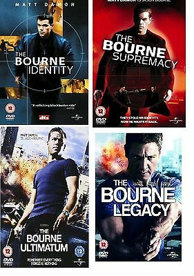 the bourne collection dvd 4 film box set new sealed