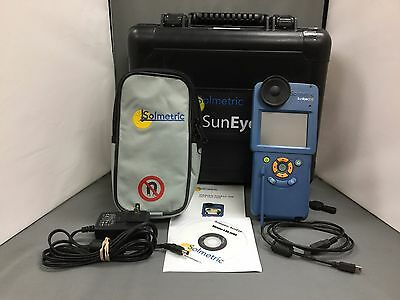 Solmetric Suneye 210 Shade Analysis Tool with Hard Case