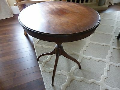 Imperial Solid Mahogany Side Table 1013~Made In Grand Rapids Mi~Mid Century~Vgc