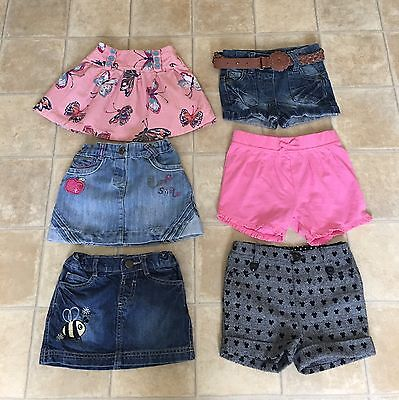 Girls shorts & skirts age 18/24 months NEXT