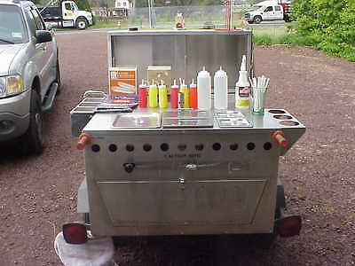 Hot Dog Cart, Manitowoc Ice maker / Machine. Package deal