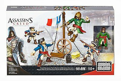 [NEW&SEALED] Mega Bloks Assassin''s Creed French Revolution Pack