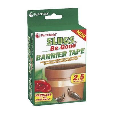 PestShield SLUG SNAILS BARRIER COPPER TAPE STRIP 2M Slugs Be Gone Repellent