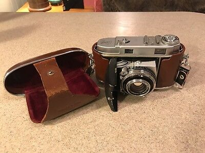 Kodak Retina IIc 35mm Rangefinder Camera w Case Untested Parts or Repair