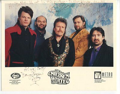 no reserve THE NIELSEN WHITE BAND autograph HAND SIGNED 8X10 2744