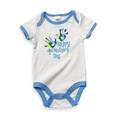 Baby Boy 1st Mother's Day Onesie NWT New Mom 1st Mothers Day Boy Mom & Son
