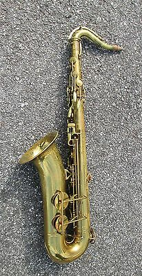 Vintage Early '50s H. N. White Cleveland Tenor Sax Saxophone !  GREAT POTENTIAL!
