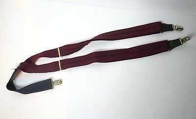 True Vintage Pelican USA Red and Blue Suspenders