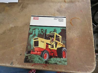 Introduction CASE 770/870  Tractor brochure
