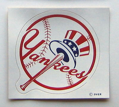 Vintage 1971 New York Yankees MLB Baseball Decal Sticker from Meyercord