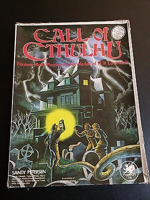 Call of Cthulhu RPG boxed set - 3rd edition 1983 - Chaosium #2301-X