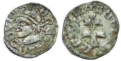 "Hungary. Louis I ""the Great"", of Anjou. 1342-1348. AR denar"