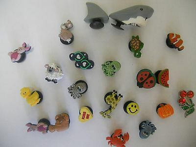 Croc buttons 21items