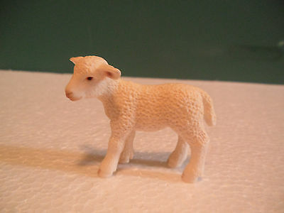 Schleich White Sheep Lamb Figure USED