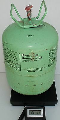 Honeywell Genetron R22 Refrigerant FULL 30 lb Sealed No Box