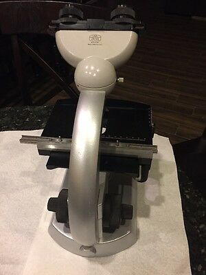 Carl Zeiss Microscope Standard Stand Head and Stage